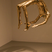 The bronze sculpture Arch of Hysteria by Louise Bourgeouis on display at the Hirshhorn Museum, part of the Smithsonian Institution in Washington, DC