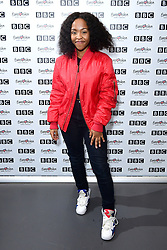 Asanda during Eurovision: You Decide - Meet The Artists, an introduction to this year's UK hopefuls, at BBC, New Broadcasting House in London.