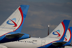 May 27, 2017 - Civil jet airplanes of Ural Airlines at Domodedovo airport, Moscow Region, Russia  (Credit Image: © Russian Look via ZUMA Wire)