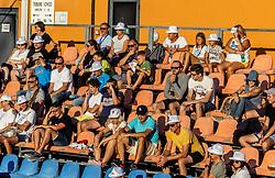 PORTOROZ, SLOVENIA - SEPTEMBER 18:  Supporters in Semifinal  during the WTA 250 Zavarovalnica Sava Portoroz at SRC Marina, on September 18, 2021 in Portoroz / Portorose, Slovenia. Photo by Vid Ponikvar / Sportida