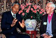 Nelson Madela with Trevor Huddleston London 1997