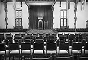Nederland, Den Haag, 15-10-1986De Ridderzaal.leeg,lege,troonrede, koning, koningin,staatshoofd,regeringsverklaring,prinsjesdagFoto: Flip Franssen/Hollandse Hoogte