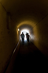 Dover/Kent/England - Secret Wartime Tunnels under the Castle. Dover is a major port on the south-east coast of England. Situated in the county of Kent, it faces France across the English Channel.