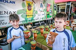 Escola do chimarrão na Tramontini durante a 38ª Expointer, que ocorre entre 29 de agosto e 06 de setembro de 2015 no Parque de Exposições Assis Brasil, em Esteio. FOTO: Jefferson Bernardes/ Agência Preview