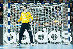Filip Ivic #16 of PPD Zagreb during handball match between PPD Zagreb (CRO) and Paris Saint-Germain (FRA) in 11th Round of Group Phase of EHF Champions League 2015/16, on February 10, 2016 in Arena Zagreb, Zagreb, Croatia. Photo by Urban Urbanc / Sportida