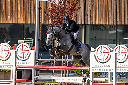 Hendrickx Dominique, BEL, Etundel De Marocy<br /> Belgian Championship 6 years old horses<br /> SenTower Park - Opglabbeek 2020<br /> © Hippo Foto - Dirk Caremans<br />  13/09/2020