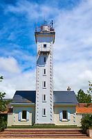 France, Vendée (85), Les Sables-d'Olonne, rue des Deux Phares // France, Vendée, Les Sables-d'Olonne