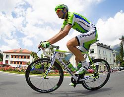 02.07.2013, Osttirol, AUT, 65. Oesterreich Rundfahrt, 3. Etappe, Heiligenblut - Matrei in Osttirol, im Bild Ivan Basso (ITA, Cannondale Pro Cycling) // during the 65 th Tour of Austria, Stage 3, from Heiligenblut to Matrei, Tyrol, Austria on 2013/07/02. EXPA Pictures © 2013, PhotoCredit: EXPA/ Johann Groder