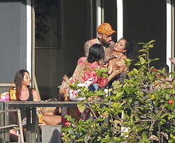 EXCLUSIVE: ***NO USA TV. NO USA WEB*** Chris Brown was horseplaying in Miami a few days ago and, even though some of the pics look ominous, Chris and the woman say it was all in good fun. Chris and a bunch of people were partying at a home he was renting during the Ultra Festival. The photos were taken at 9 AM Monday. In a few photos ... Chris has his right hand around a woman's throat. Although the woman looks like she's in distress in a few pics, she and Chris insist it's horseplay. In other photos you see the woman smiling as Chris touches her neck. 26 Mar 2018 Pictured: Chris Brown. Photo credit: TMZ/MEGA TheMegaAgency.com +1 888 505 6342