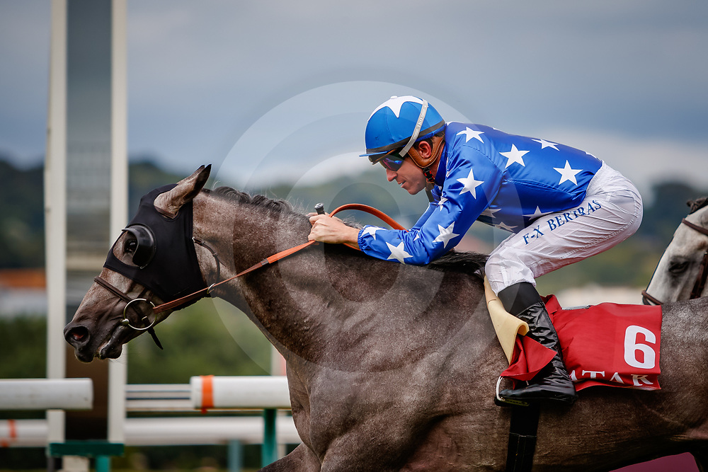 Rajeh (FX. Bertras) wins Doha Cup Gr.1 PA in Deauville, France  11/08/2018, photo: Zuzanna Lupa
