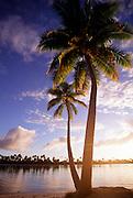 Sunset, Tetiaroa, French Polynesia