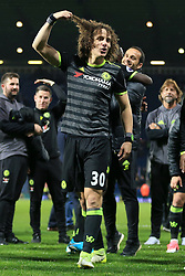 12th May 2017 - Premier League - West Bromwich Albion v Chelsea - David Luiz of Chelsea tugs on his curly hair - Photo: Simon Stacpoole / Offside.