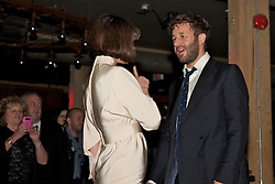 Actor Chris O'Dowd's and wife Dawn Porter at the after party for film 'The Sapphires' during the 2012 Toronto International Film Festival, September 9, 2012. Photo by Bekki Draper / i-Images.