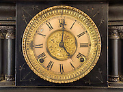 an old windup clock