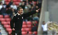 Photo: Andrew Unwin.<br />Sunderland v Southampton. Coca Cola Championship. 11/11/2006.<br />Southampton's George Burley.