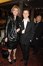 Artist GRAYSON PERRY and JOHNNY PHILLIPS at the Morgan Stanley Great Britons Awards at The Guildhall, City of London on 31st January 2008.  Conservative party leader David Cameron presenter a lifetime achievement award to former Prime Minister Baroness Thatcher.<br /> <br /> NON EXCLUSIVE - WORLD RIGHTS (EMBARGOED FOR PUBLICATION IN UK MAGAZINES UNTIL 2 WEEKS AFTER CREATE DATE AND TIME) www.donfeatures.com  +44 (0) 7092 235465