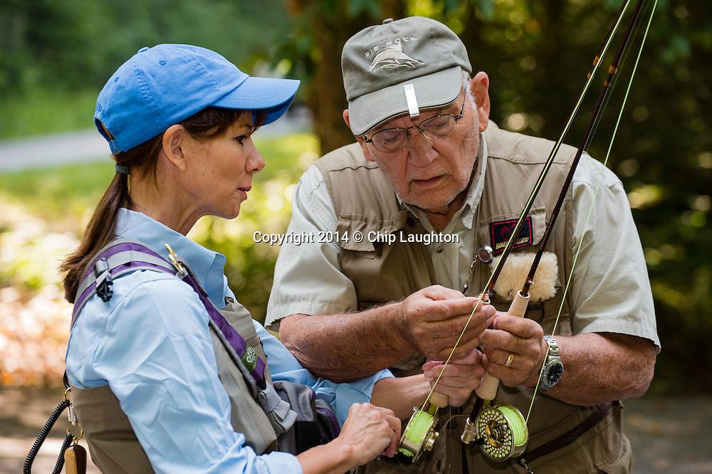 flys fishing stock photo image