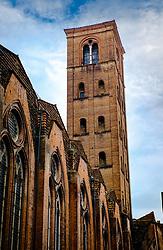 Tower of the Basilica di San Petronio, Bologna, Italy<br /> <br /> (c) Andrew Wilson | Edinburgh Elite media