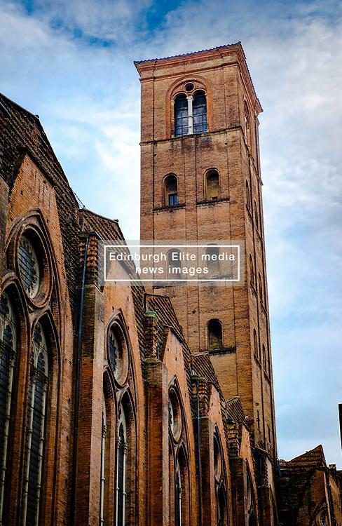 Tower of the Basilica di San Petronio, Bologna, Italy<br /> <br /> (c) Andrew Wilson   Edinburgh Elite media