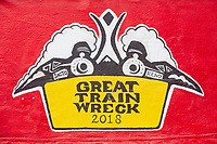 Great Train Wreck by: Collaborative Artisans - Reno & Sacramento, & Debby Brower from: Sacramento, CA and Reno, NV year: 2018