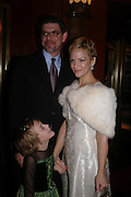 Jack Tatliffe, Jennifer Rae Beck and Madeleine Tatliffe. Mary Poppins Gala charity night  in aid of Over the Wall. Prince Edward Theatre. 14 December 2004. ONE TIME USE ONLY - DO NOT ARCHIVE  © Copyright Photograph by Dafydd Jones 66 Stockwell Park Rd. London SW9 0DA Tel 020 7733 0108 www.dafjones.com
