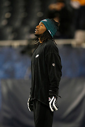 Philadelphia Eagles cornerback Asante Samuel #22 before  the NFL game between the Philadelphia Eagles and the Chicago Bears on November 22nd 2009. The Eagles won 24-20 at Soldier Field in Chicago, Illinois. (Photo By Brian Garfinkel)