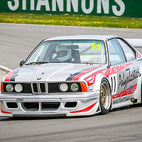 Simon Emmerling driving his Schnitzer built BMW 635Csi touring car.  Simon's car was powered by a Larry Perkins Australian Touring Car Championship spec Holden V8.