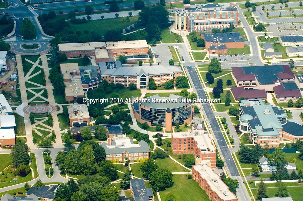 Aerial view of Delaware State University, Dover, Delaware