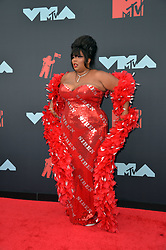 August 26, 2019, New York, New York, United States: Lizzo arriving at the 2019 MTV Video Music Awards at the Prudential Center on August 26, 2019 in Newark, New Jersey  (Credit Image: © Kristin Callahan/Ace Pictures via ZUMA Press)