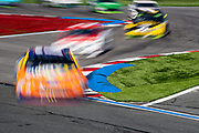 September 28-30, 2018. Charlotte Motorspeedway, ROVAL400: long exposure racing action, 17 Ricky Stenhouse Jr. SunnyD, Ford, Roush Fenway Racing