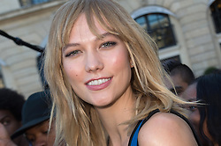 Karlie Kloss attending the Louis Vuitton's Spring-Summer 2016/2017 Ready-To-Wear collection show in Paris, France, on October 5, 2016. Photo by Nicolas Genin/ABACAPRESS.COM