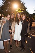 ALAA AL SHROOGI; SHARIFA AL SUDARI; PRINCESS ALIA AL SENUSSISANDRA SORIANO, The Serpentine Contempories party. Kensington Gdns. 16 September 2013