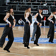 Anadolu Efes's show girls during their Turkish Basketball League match Anadolu Efes between Trabzonspor at Sinan Erdem Arena in Istanbul, Turkey, Saturday, December 10, 2011. Photo by TURKPIX