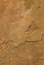 Face in Sandstone, Arches National Park, Utah, US
