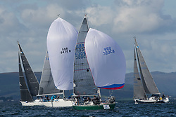 Largs Regatta Festival 2018<br /> <br /> Day 1- GBR6305C, Lady Ex, Ben Shelley, Fairlie Yacht Club, Extrovert 22<br /> <br /> Images: Marc Turner