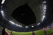 Fussball: 1. Bundesliga, Hamburger SV - FC Bayern Muenchen, Hamburg, 22.01.2016<br /> <br /> Stadion Uebersicht, Volkspark, Mond, Vollmond, Volksparkstadion<br /> <br /> © Torsten Helmke