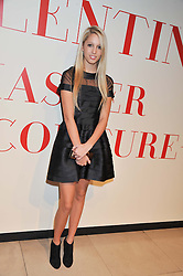 PRINCESS MARIA OLYMPIA OF GREECE at a private view of 'Valentino: Master Of Couture' at Somerset House, London on 28th November 2012.
