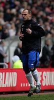 Photo: Andrew Unwin.<br /> Sunderland v Tottenham Hotspur. The Barclays Premiership. 12/02/2006.<br /> Tottenham's Danny Murphy.