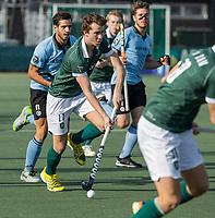 WASSENAAR - Guus Jansen (Rotterdam) tijdens de hoofdklasse competitiewedstrijd heren, HGC-HC ROTTERDAM (0-7) .     COPYRIGHT  KOEN SUYK