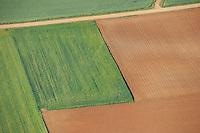 Aerial image<br /> farmland  Salamanca Region, Castilla y León, Spain