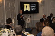 SID GANIS, The Academy Museum of Motion Pictures hosts a lunch and press briefing about the Museum's<br /> 2019 opening in Los Angeles. The Dorchester<br /> Park Lane,  London. 10 December 2018