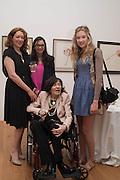 SAM MCEWEN; HEATHER DAVIES; ROMANA MCEWEN; BROOKE MASON, Exhibition opening.- Rory McEwen - The Colours of Reality,   Shirley Sherwood Gallery of Botanical Art, Kew Gardens, TW9 2AH , London.  May 20, 2013