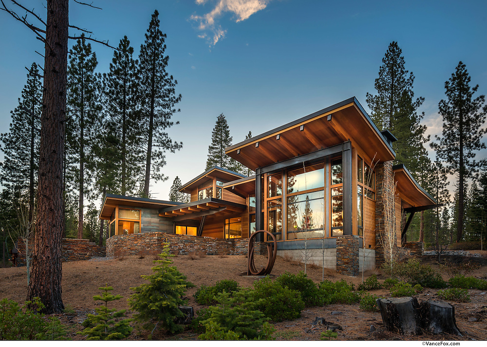 Ward Young Architects, MCR, Martis Camp Realty, Crestwood Construction, Sierra Craftsman