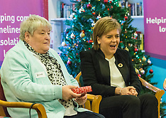 Nicola Sturgeon tea party | Edinburgh | 5 December 2016