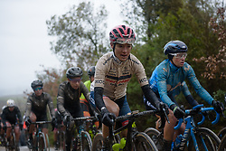 Ashleigh Moolman Pasio at Strade Bianche - Elite Women 2018 - a 136 km road race on March 3, 2018, starting and finishing in Siena, Italy. (Photo by Sean Robinson/Velofocus.com)