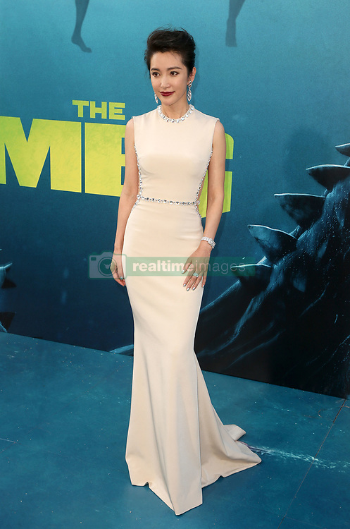 """HOLLYWOOD, CA - August 6: Cassie Scerbo, at Warner Bros. Pictures And Gravity Pictures' Premiere Of """"The Meg"""" at TCL Chinese Theatre IMAX in Hollywood, California on August 6, 2018. 06 Aug 2018 Pictured: Li Bingbing. Photo credit: FS/MPI/Capital Pictures / MEGA TheMegaAgency.com +1 888 505 6342"""