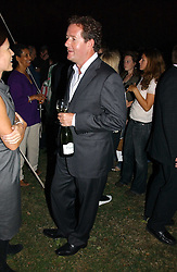 PIERS MORGAN at a party to celebrate the publication of Notting Hell by Rachel Johnson held in the gardens of 1 Rosmead Road, London W11 on 4th September 2006.<br /><br />NON EXCLUSIVE - WORLD RIGHTS