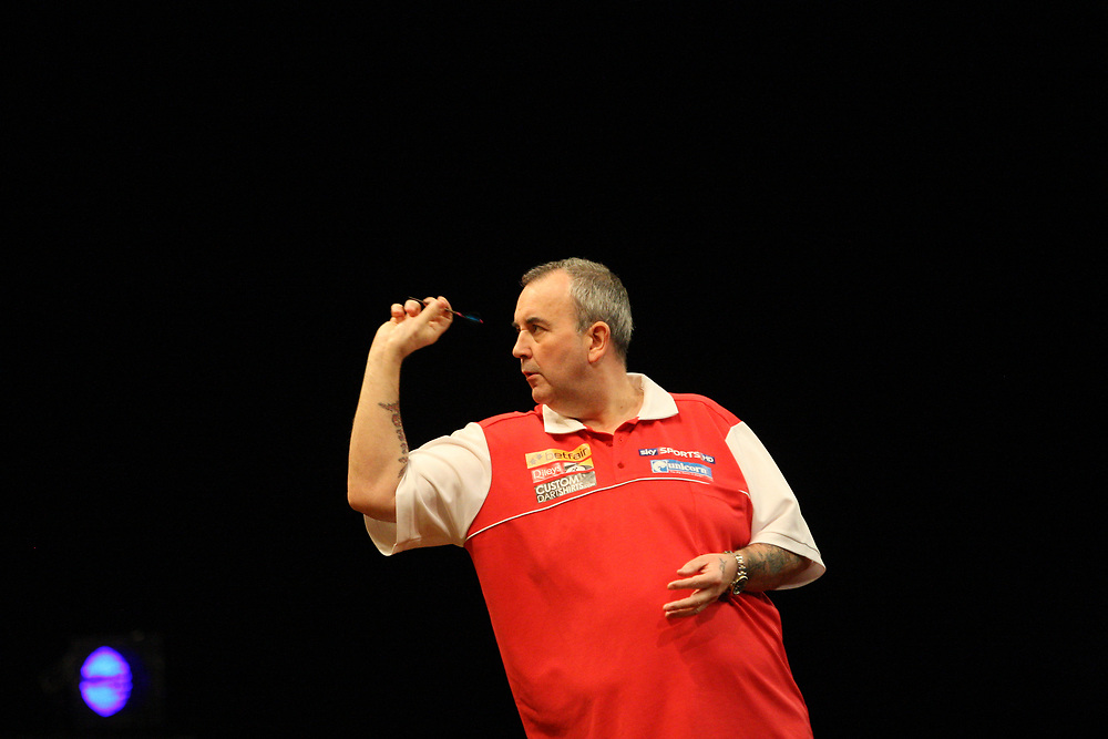 "Darts: Betfair Team World Cup 2013, Hamburg, 03.02.2013<br /> Phil ""The Power"" Taylor (ENG)<br /> © Torsten Helmke"