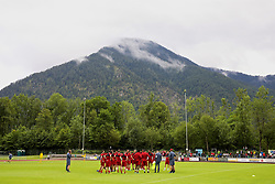 ROTTACH-EGERN, GERMANY - Friday, July 28, 2017: Liverpool players during a training session at FC Rottach-Egern on day three of the preseason training camp in Germany. (Pic by David Rawcliffe/Propaganda)