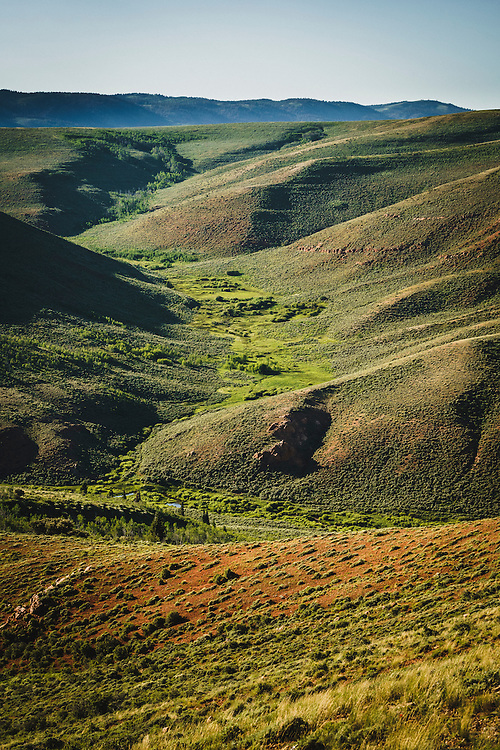 Birch Creek easement and conservation was made possible with help from the Rocky Mountain Elk Foundation. Birch Creek, Utah.